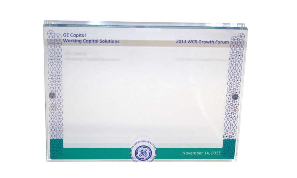GE Capital WCS speaker gift