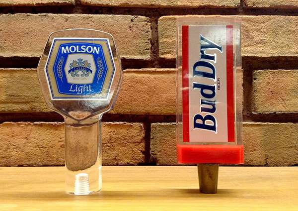Lucite deal toys should remind you of draft beer