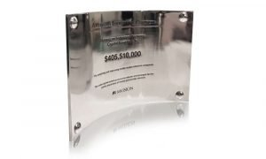 American Industrial Partners Pewter Financial Tombstone