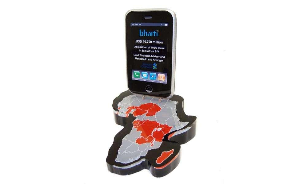 Bharti Custom Lucite Tombstone