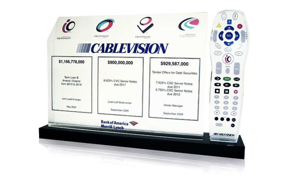 Cablevision Custom Deal Toy