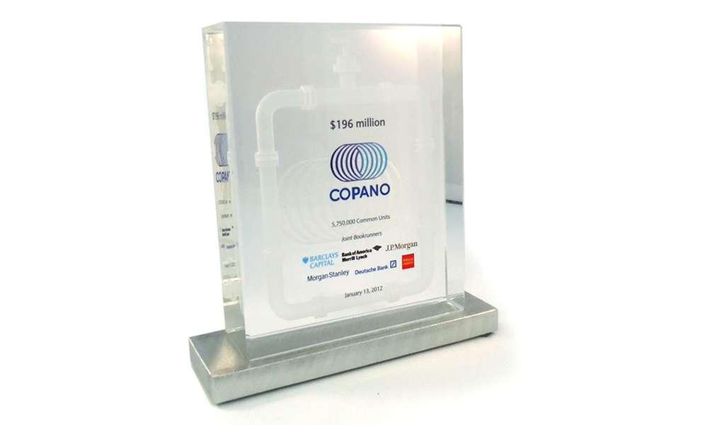 Copano Energy Financial Tombstone