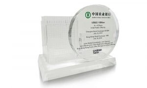 Agricultural Bank of China Crystal Deal Toy