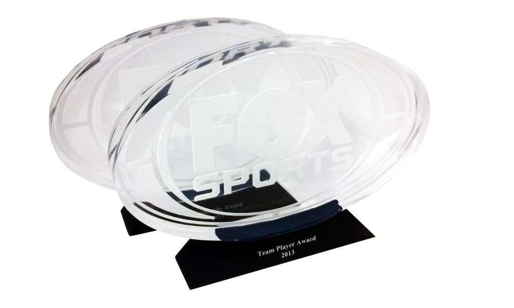 Fox Sports Custom Lucite Award