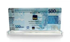 Itau Unibanco Crystal Deal Toy