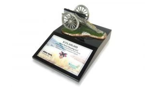 The West Point Housing Lucite Commemorative