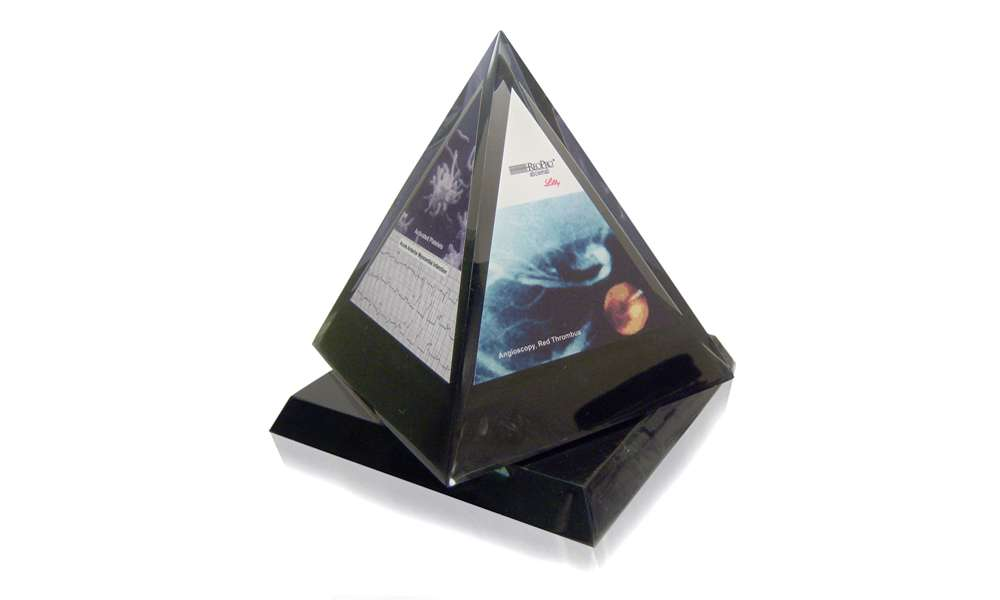 Pharma Spin Pyramid Recognition Product