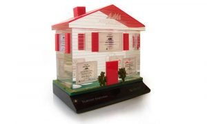 Associated Materials Lucite Tombstone