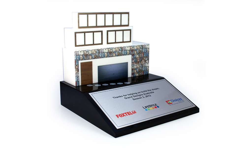 Grand Designs Australia and Foxtel Corporate Recognition Gift