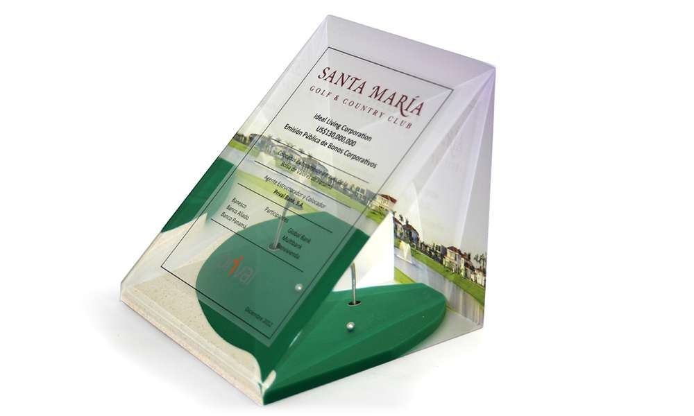 Santa Maria Golf Club Custom Lucite