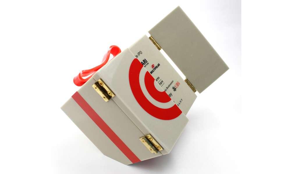 HK-Matahari Cube Custom Lucite