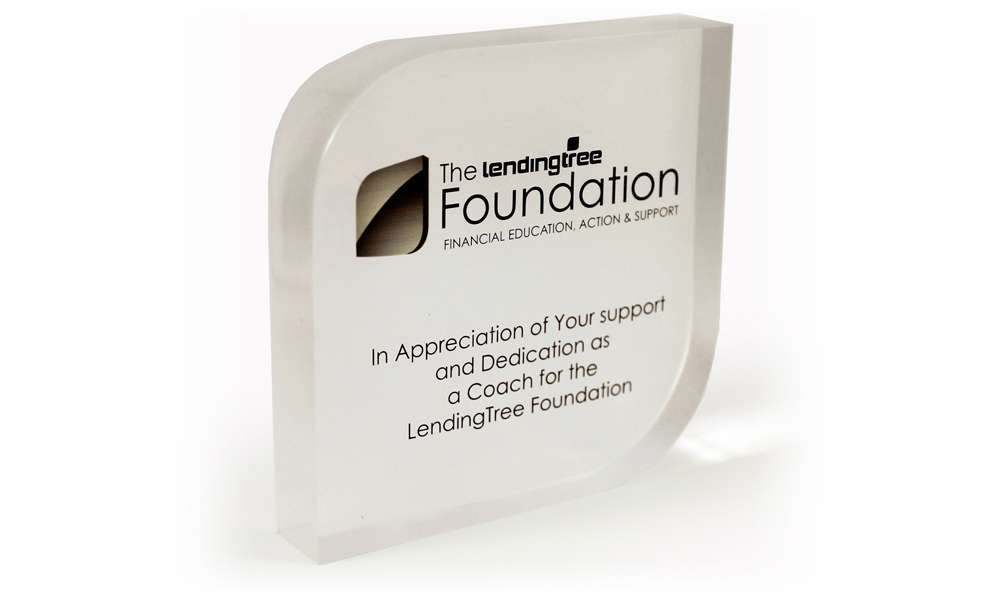 Lending Tree Foundation Service Award Development Product