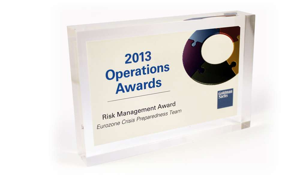 Goldman Sachs Team Recognition Awards - The Corporate Presence