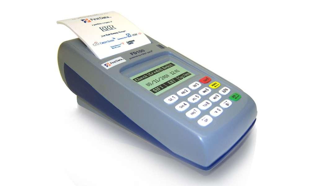 Credit Card Swipe Resin Tombstone