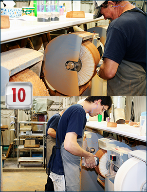 Lucite deal toys: how they are made, step 10