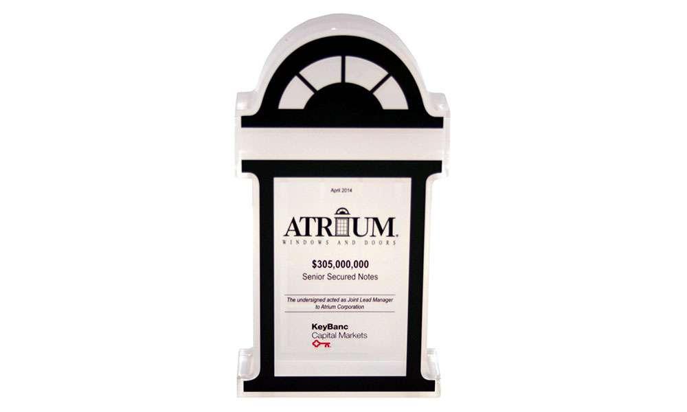 Atrium Financial Tombstone