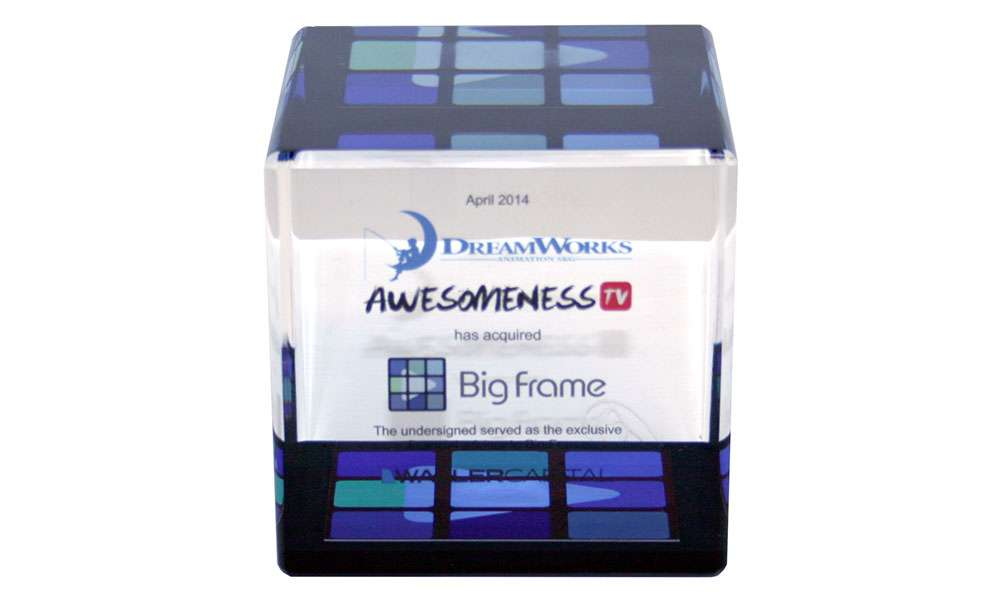Awesomeness / Big Frame Financial Tombstone