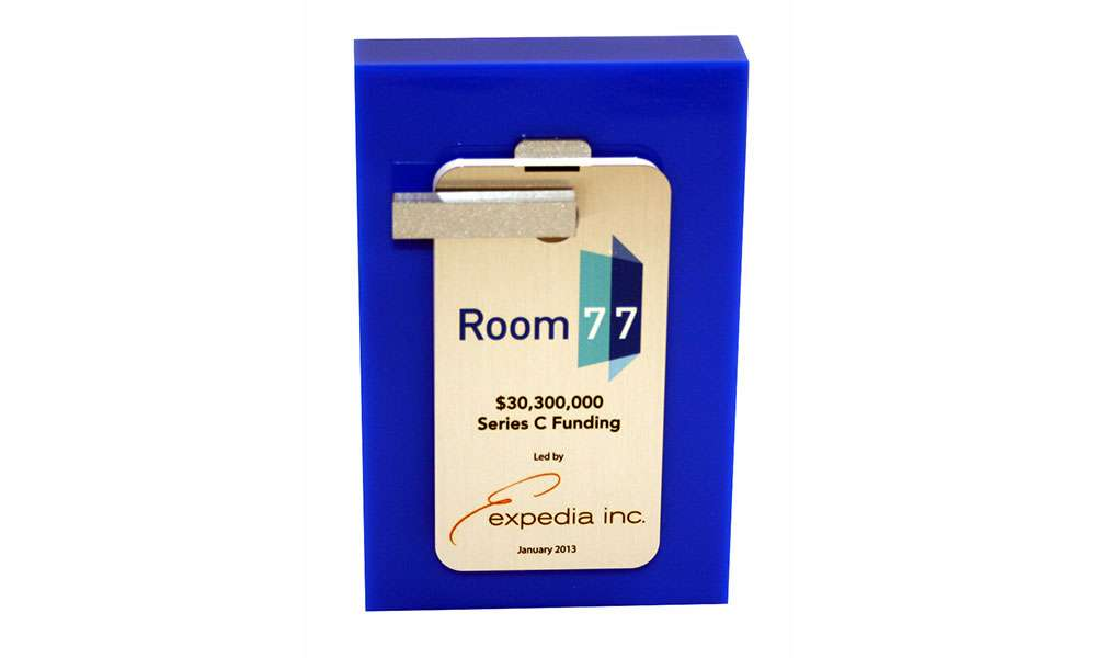 Expedia / Room 77 Lucite Deal Toy