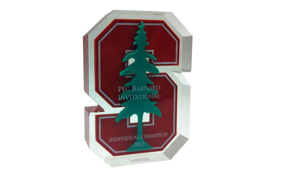 Stanford Custom Lucite Award