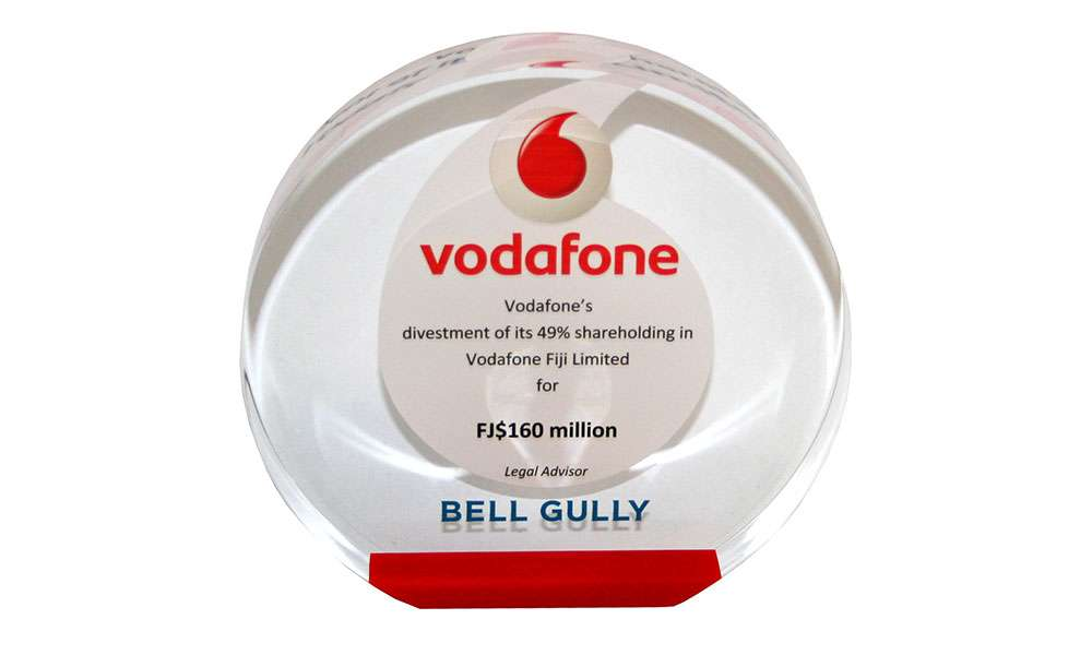 Legal Advisory Deal Gift | Vodafone Fiji Limited | Bell Gully