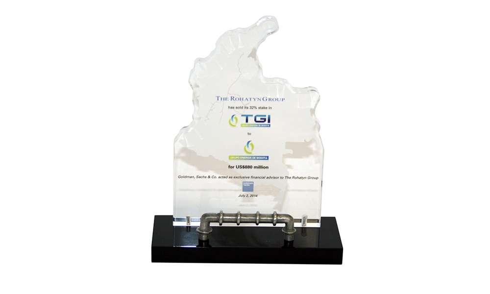 TGI Natural Gas Lucite