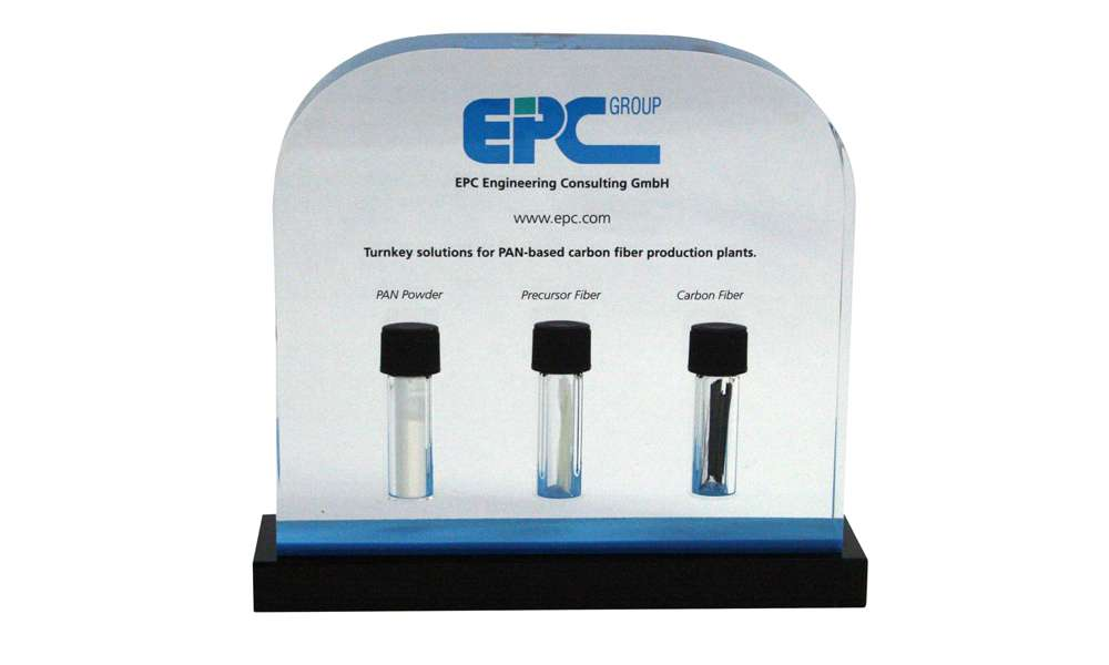 EPC Lucite Embedment with Product Samples