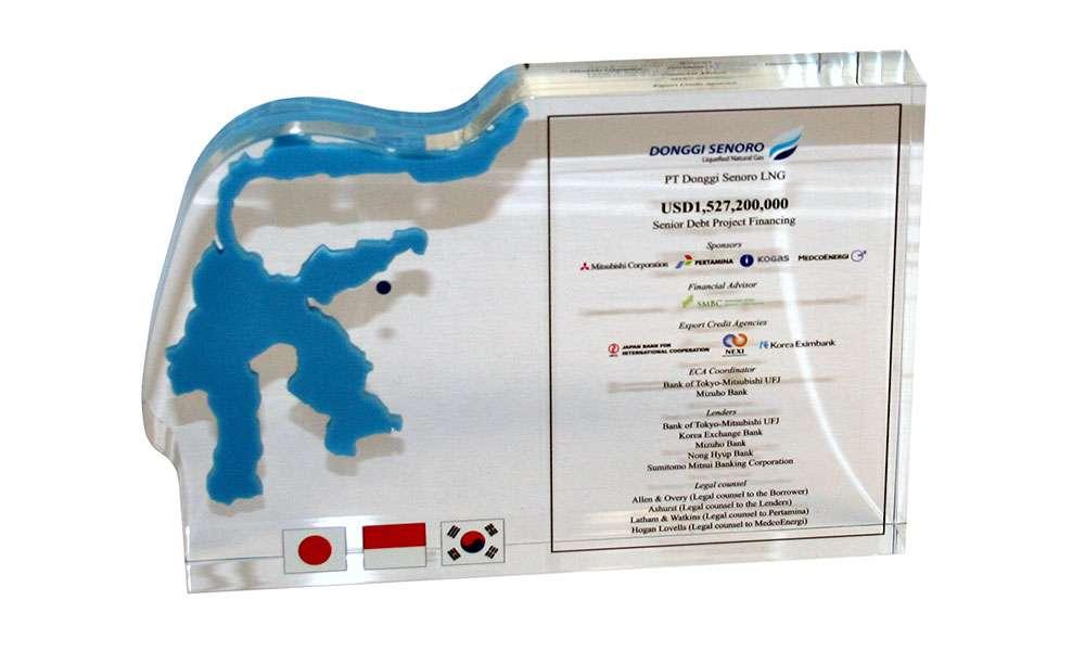 Natural Gas Project Commemorative - Donggi-Senoro - Indonesia