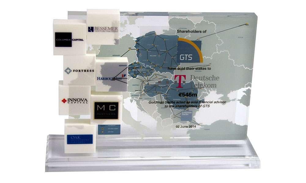 deutsche telekom GTS financial tombstone