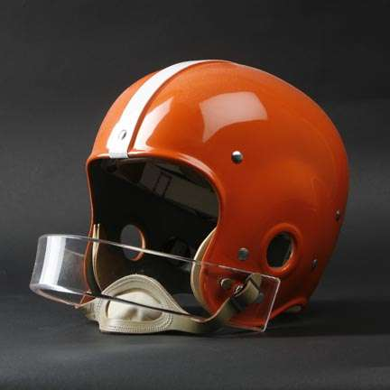cleveland browns lucite face mask
