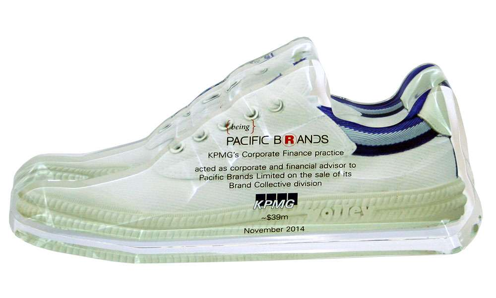 Pacific Brands Sneaker-Themed Deal Toy