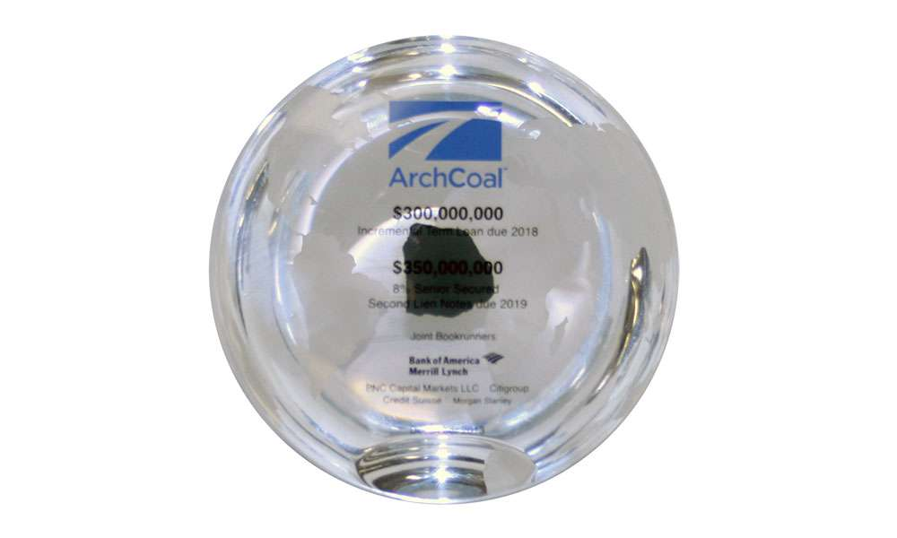 Acrylic Embedment with Coal