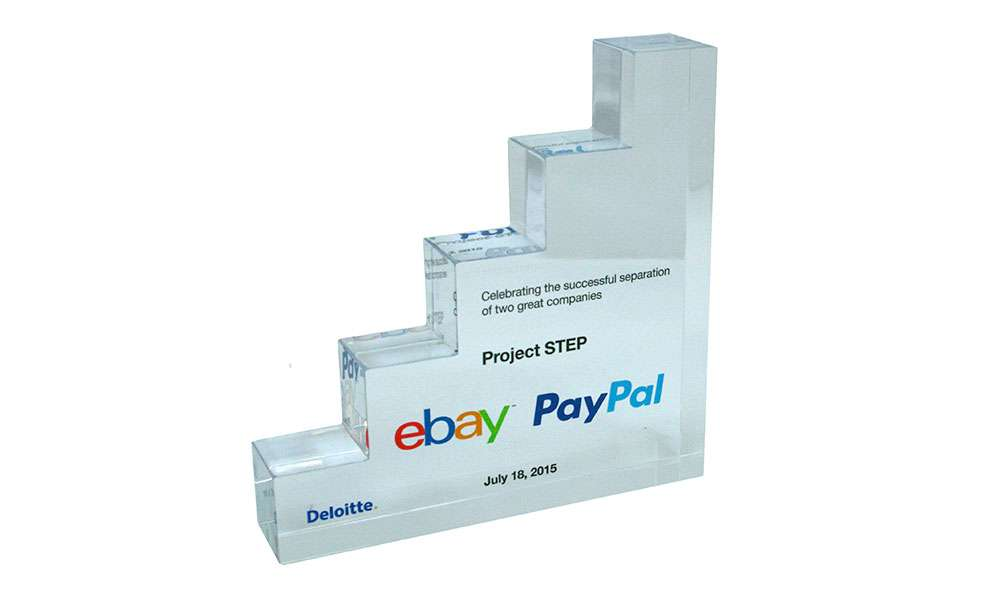 eBay PayPal Lucite Deal Toy