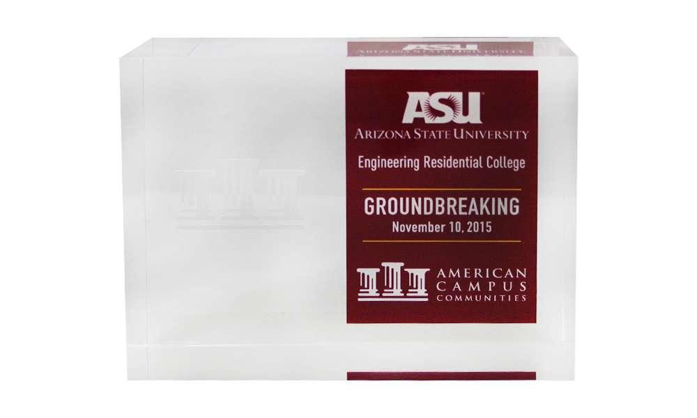 ASU Groundbreaking Commemorative