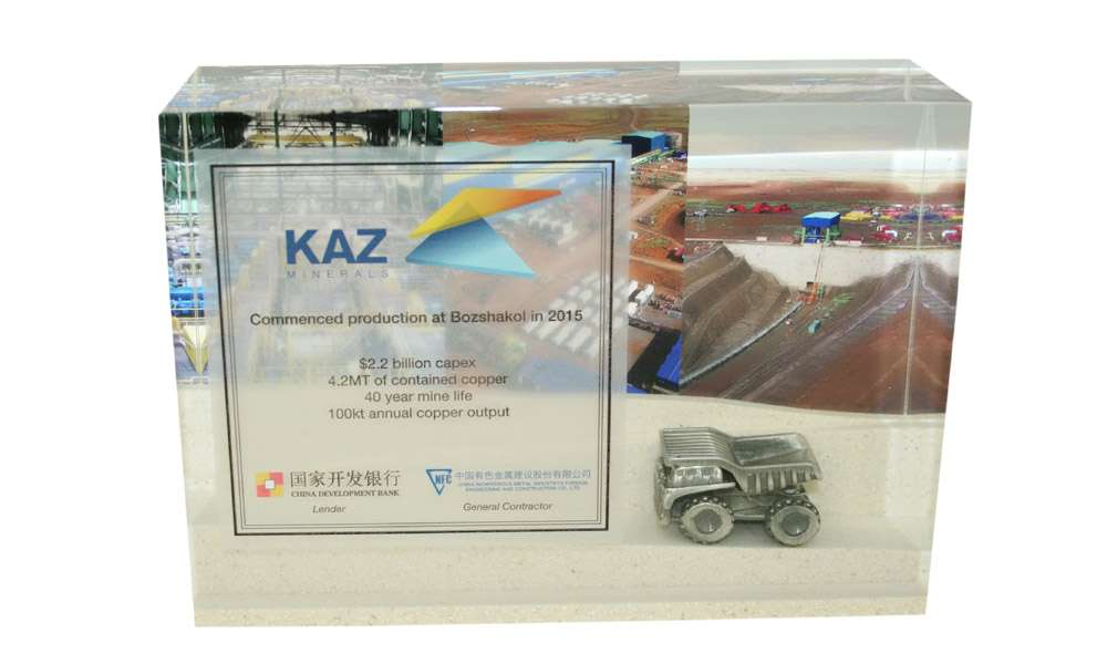 Lucite Embedemnt with Pewter Vehicle