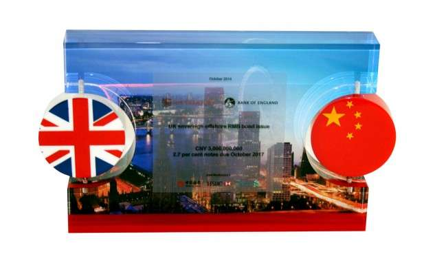 British-Chinese Financial Tombstone