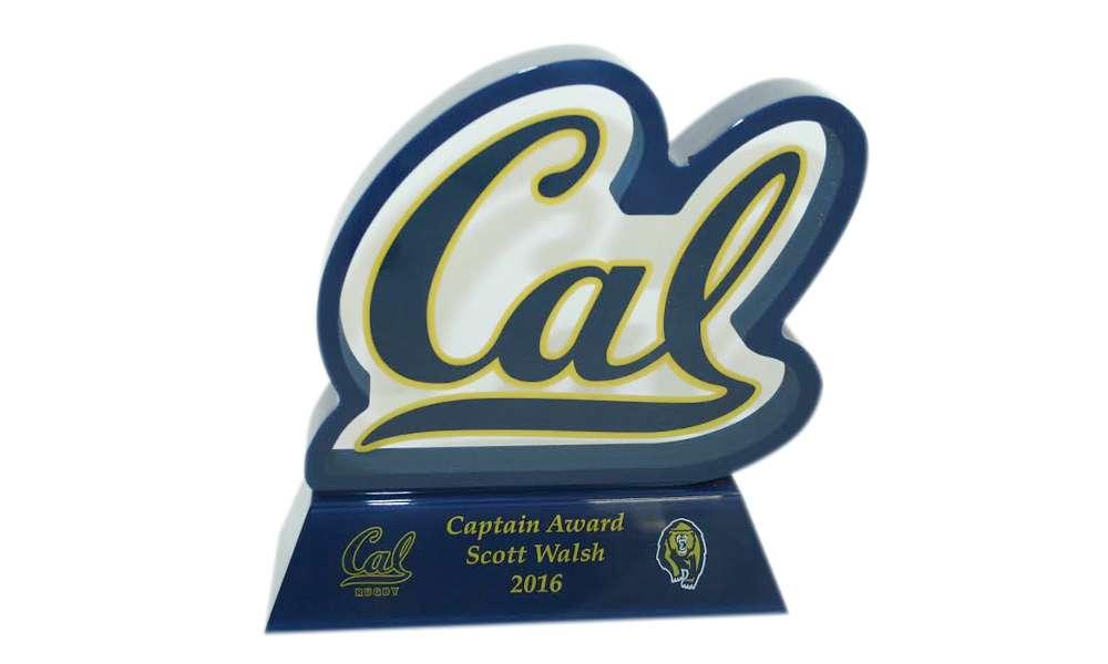 CAL Custom Lucite Athletic Award