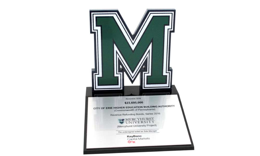 Mercyhurst University Bonds Commemorative
