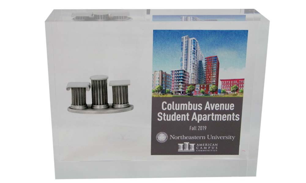University Residence Hall Commemorative