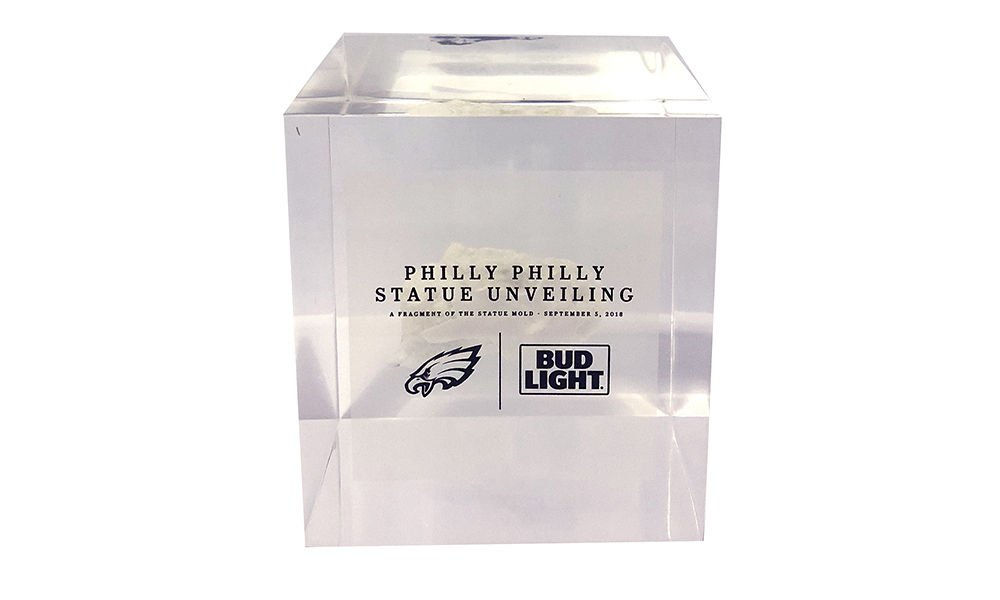 Philadelphia Eagles Statue Commemorative