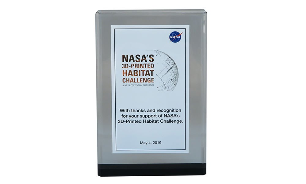 Custom Commemorative for NASA Event