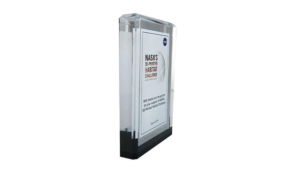Custom Recognition Gift for NASA Event