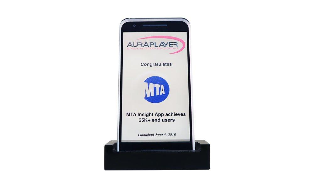 iPhone-Themed Custom Award