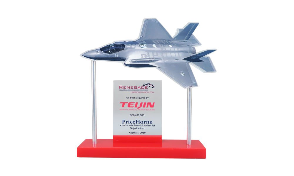 Jet Fighter-Themed Deal Toy