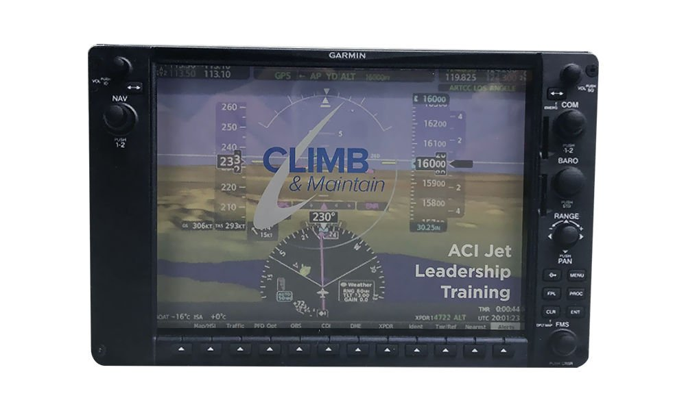 Aviation-Themed Leadership Training Commemorative