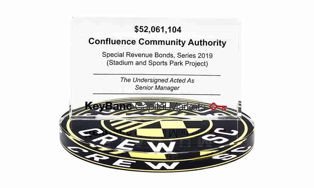 Columbus Crew MLS Stadium Commemorative