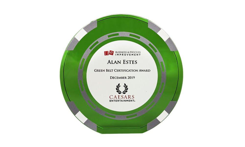 Gambling Industry Employee Recognition Award