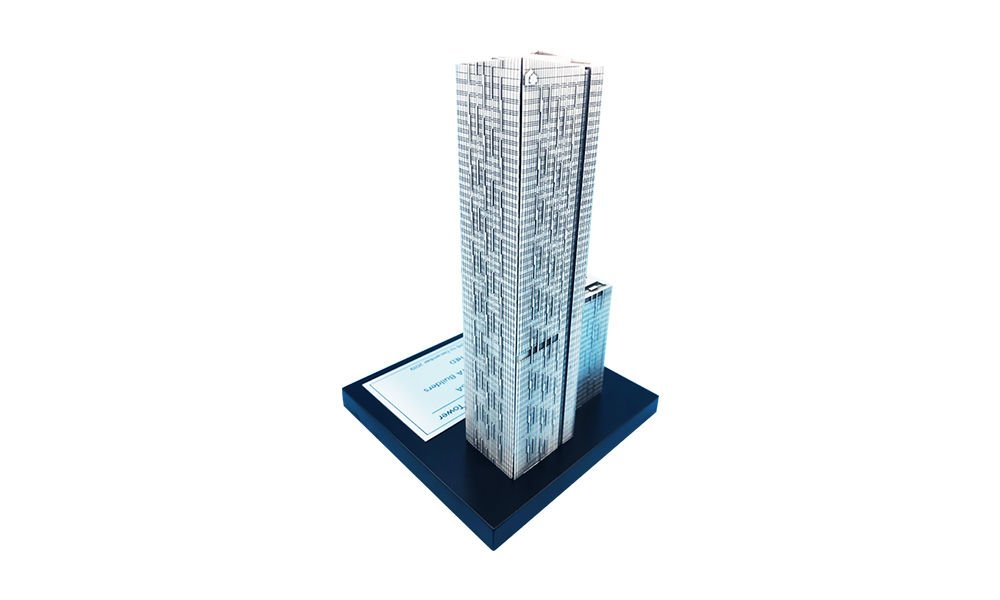 Residential Tower Pewter Replica
