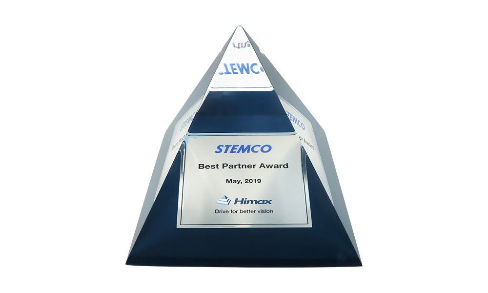 Custom Lucite Corporate Partner Award