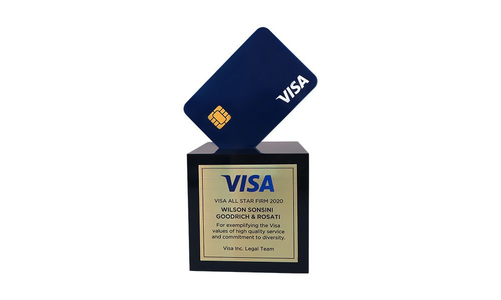 Credit Card-Themed Visa Diversity Award