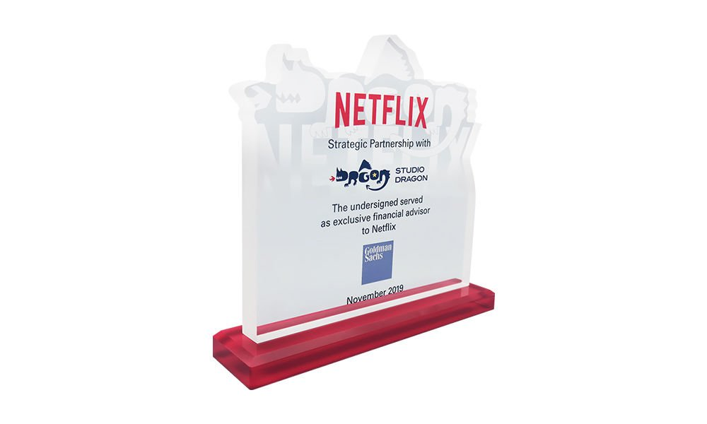 Netflix Studio Dragon Strategic Partnership Commemorative